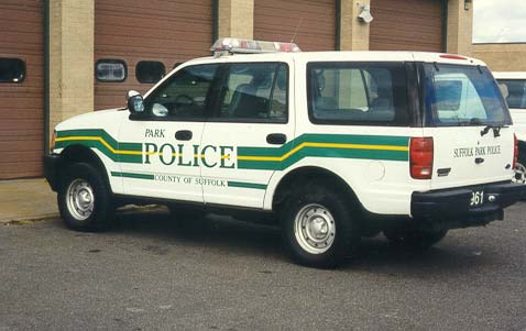 Park Police County Of Suffolk Graphics